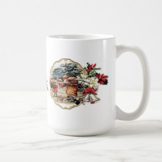 Saint Nick with Children mug