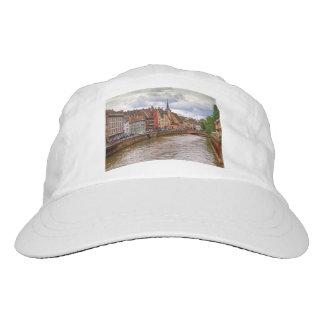 Saint-Nicolas dock in Strasbourg, France Headsweats Hat