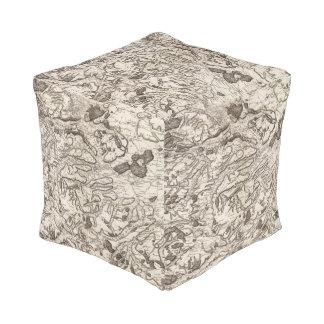 Saint Omer Cube Pouf