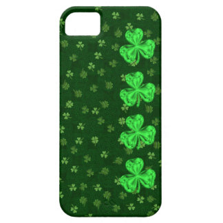 Saint Paddy's Shamrocks Too iPhone 5 Case