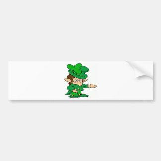 Saint Paddy's Day Bumper Sticker
