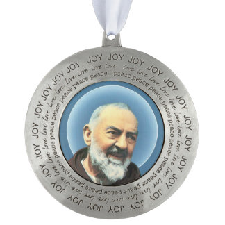 Saint Padre Pio Christmas Tree Ornament