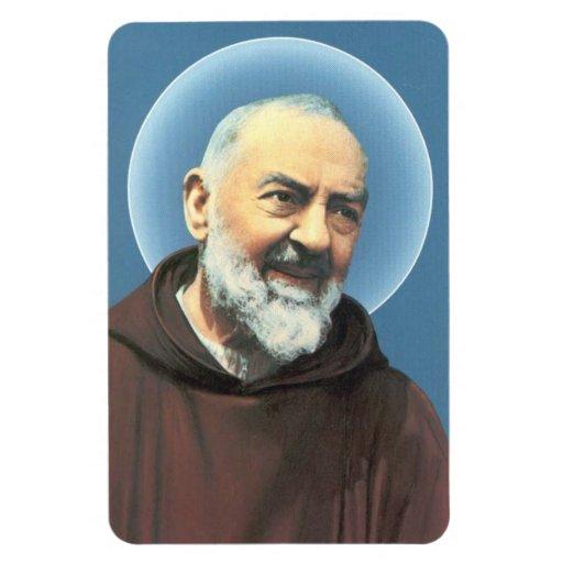 Saint Padre Pio flexible Magnet