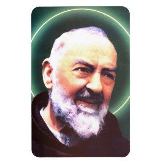 Saint Padre Pio flexible magnet Flexible Magnets