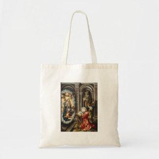 Saint Painting Madonna And Jesus Tote Bag