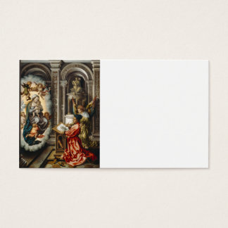 Saint Painting Mary and Baby Jesus Business Card