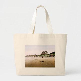 Saint-Pair-sur-Mer Normandy France Large Tote Bag