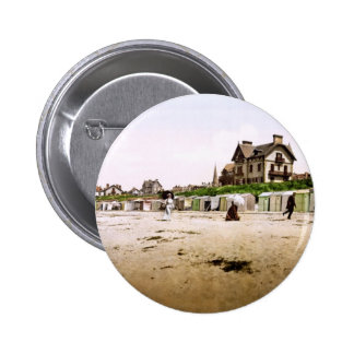 Saint-Pair-sur-Mer Normandy France Pinback Button