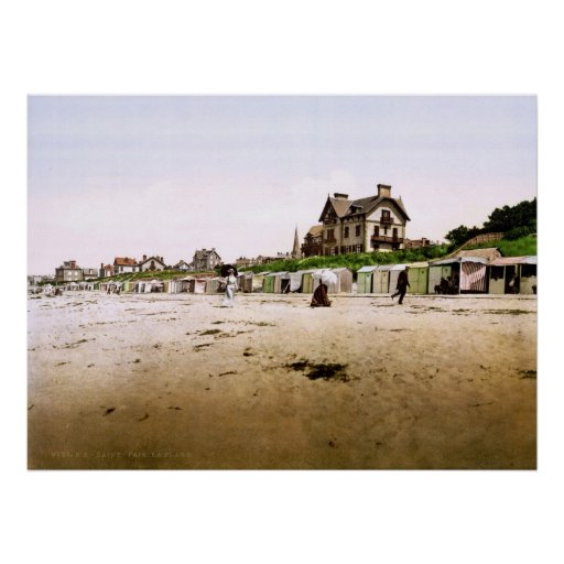 Saint-Pair-sur-Mer Normandy France Poster