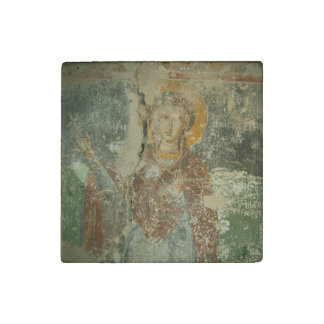 Saint Paraskevi, Marble Stone Magnets, Individual Stone Magnet