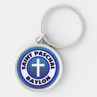 Saint Paschal Baylon Keychain