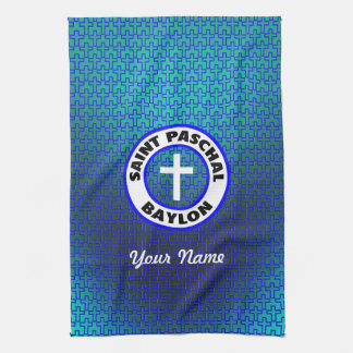 Saint Paschal Baylon Kitchen Towels