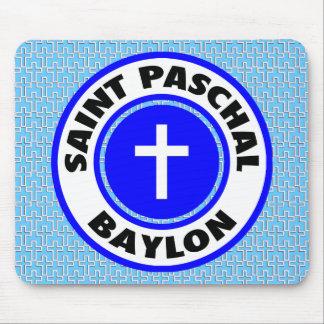 Saint Paschal Baylon Mouse Pad