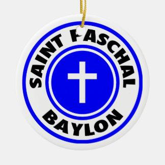 Saint Paschal Baylon Ornaments