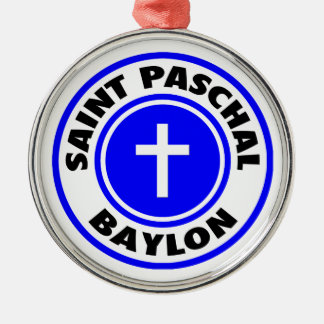 Saint Paschal Baylon Christmas Ornaments