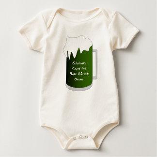 Saint Pat Mug Baby Bodysuit