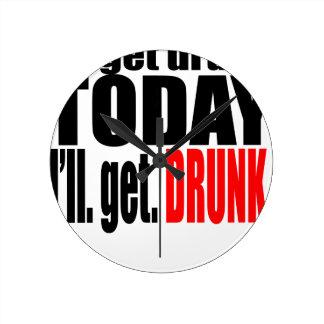 Saint patrick day celebration get high drunk march round clock