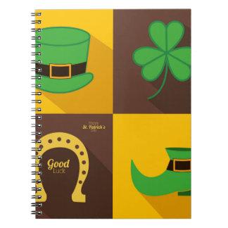 saint Patrick day Notebook