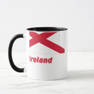 Saint Patrick Flag with Name Mug
