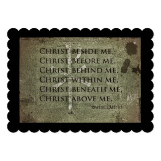 Saint Patrick Historic Quote Card