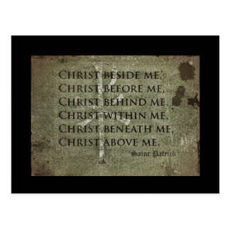 Saint Patrick Historic Quote Postcard