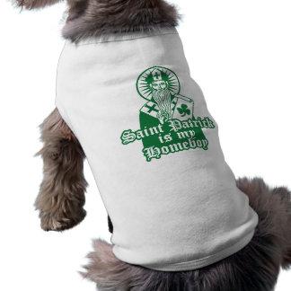 Saint Patrick is my Homeboy Dog T-shirt