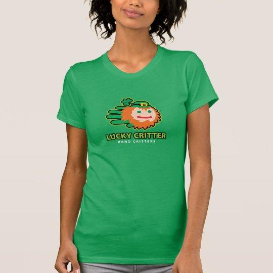 Saint Patrick Lucky Leprechaun Critter t-shirt