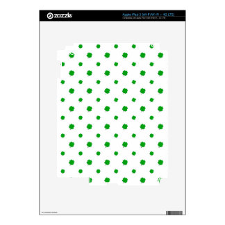 Saint Patrick Motif Pattern Decal For iPad 3
