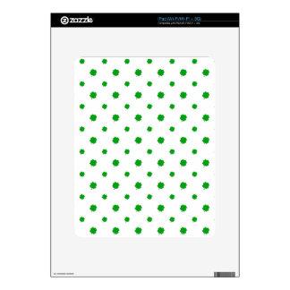Saint Patrick Motif Pattern Decals For iPad
