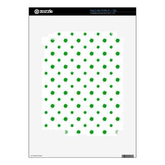 Saint Patrick Motif Pattern Skin For The iPad 2