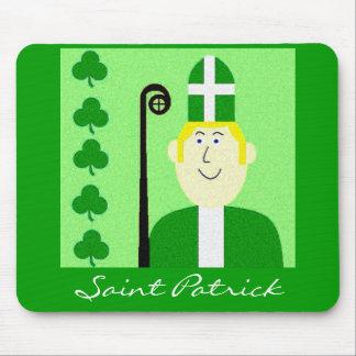 Saint Patrick Mouse Pad
