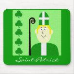 Saint Patrick Mouse Pads