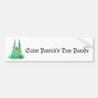 Saint Patrick s Cathedral New York Bumper Stickers
