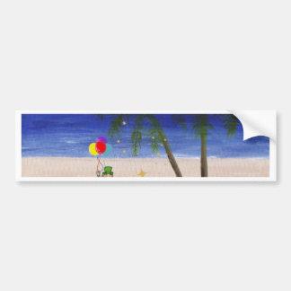 Saint Patrick s Day at the Beach jpg Bumper Sticker