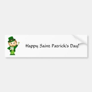 Saint Patrick s Day Adhésif Pour Voiture