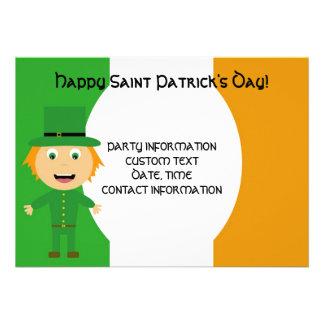 Saint Patrick s Day Celebration Personalized Announcements