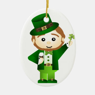 Saint Patrick' S Day Ceramic Ornament