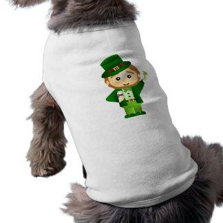 Saint Patrick s Day Tee-shirts Pour Toutous