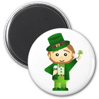 Saint Patrick' s Day Imán Redondo 5 Cm