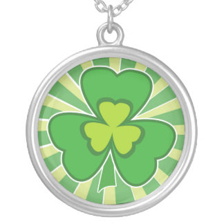 saint patrick s day personalized necklace