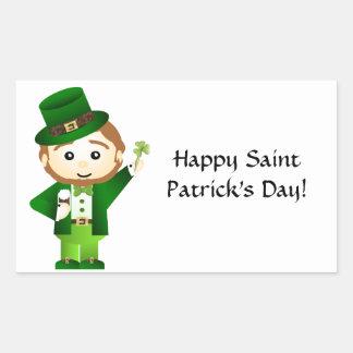Saint Patrick' S Day Rectangular Sticker