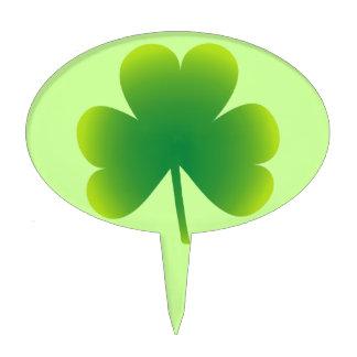 Saint Patrick s Day Shamrock Cake Toppers