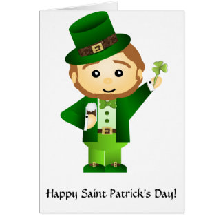 Saint Patrick' s Day Tarjeta De Felicitación