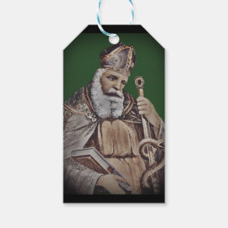 Saint Patrick with  Staff Gift Tags