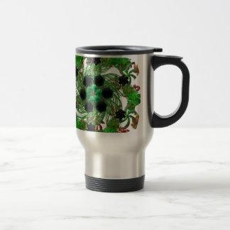 Saint Patrick Wreath Travel Mug