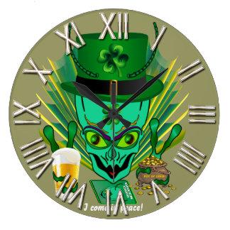Saint Patrick's All Styles View Hints below Large Clock
