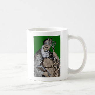 Saint Patrick's Bible and Staff Coffee Mug