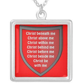 Saint Patrick's breastplate prayer necklace