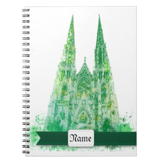 Saint Patrick's Cathedral New York Spiral Notebooks