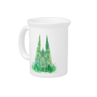 Saint Patrick's Cathedral New York Beverage Pitcher